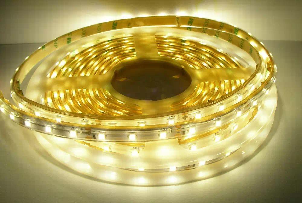 300 LED (3528SMD) IP65 kültéri LED szalag 5m, középfehér