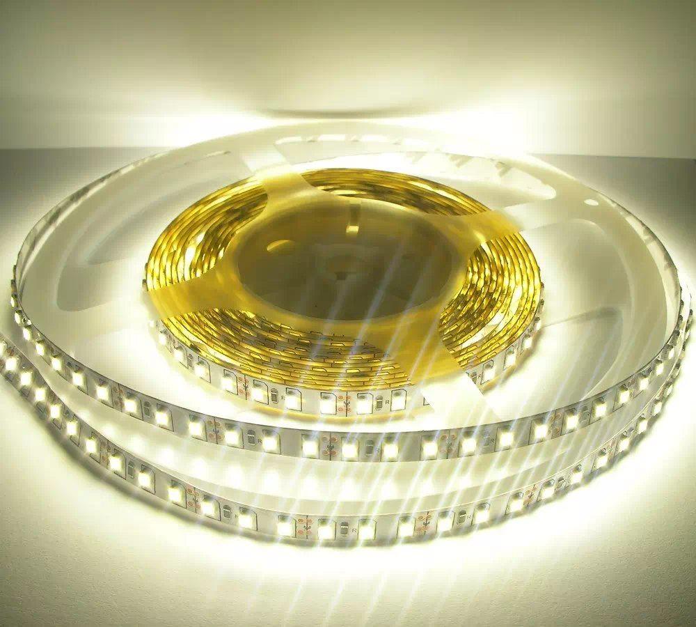 600 LED (3528SMD) beltéri flex LED-szalag 5m, középfehér