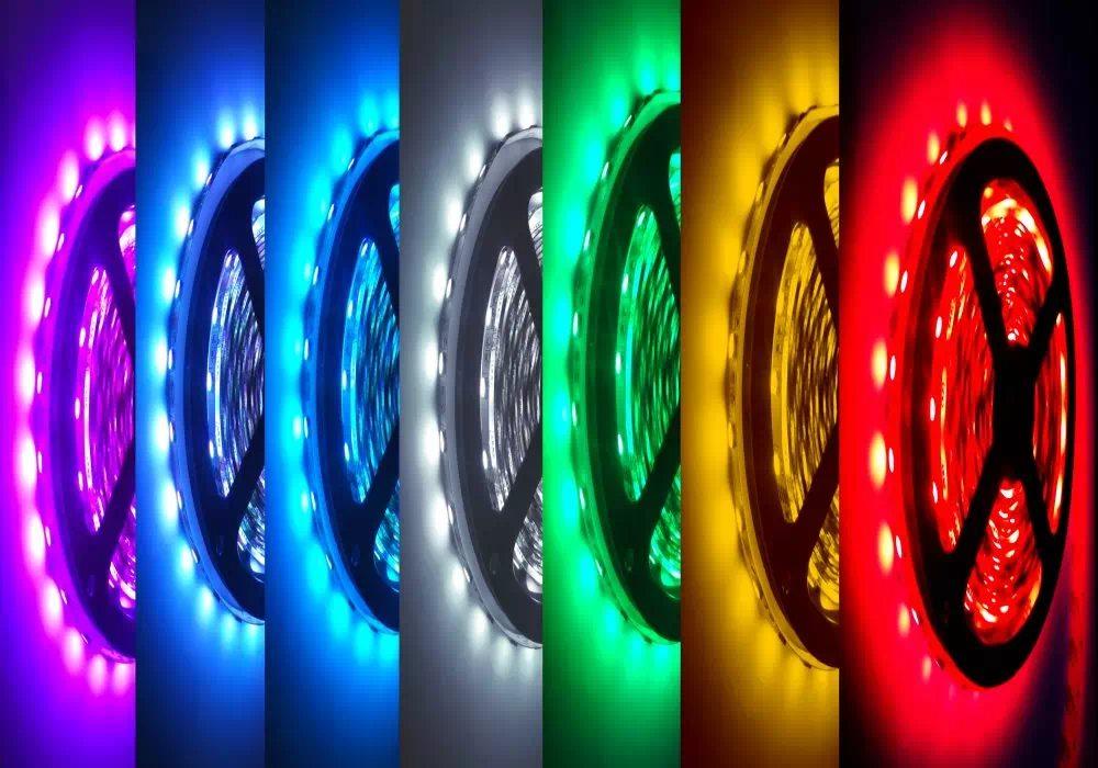 Pannon 60 LED (5050SMD) beltéri LED-szalag 1m, RGB