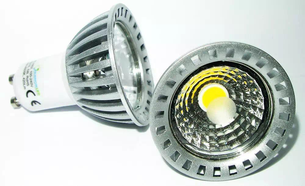 Pannon 5W COB LED spot GU10 (középfehér)