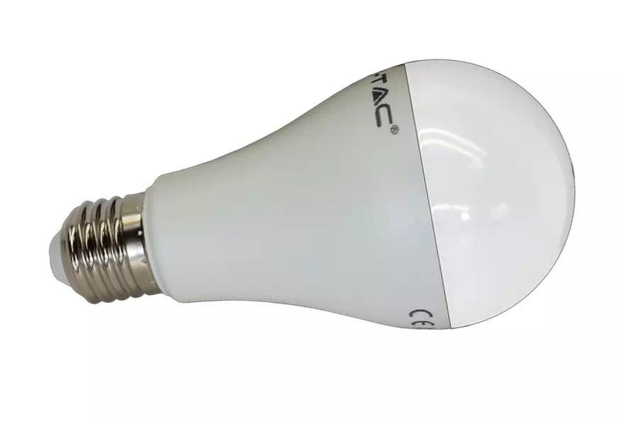 V-TAC 17W opál LED izzó E27 (hidegfehér)